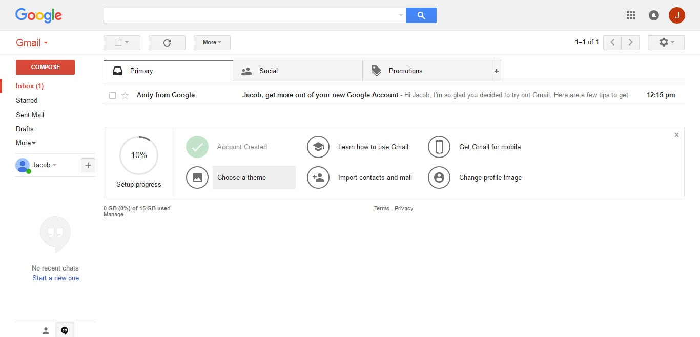 Gmail theme create