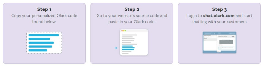 Olark Live Chat Application Setup