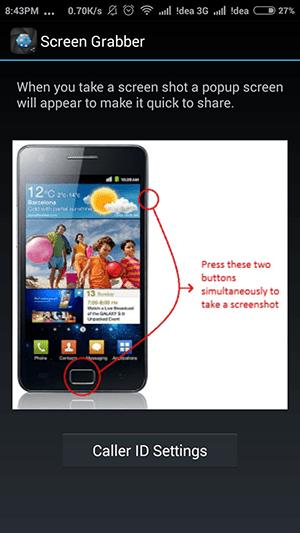 Screen Grabber Review Interface