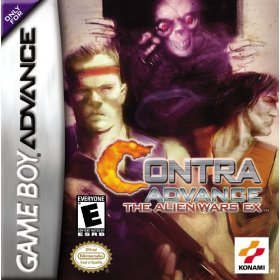 Contra Advance - The Alien Wars EX Gameboy advance game
