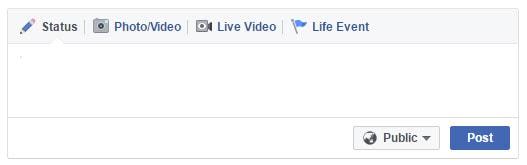 Facebook Share Screen