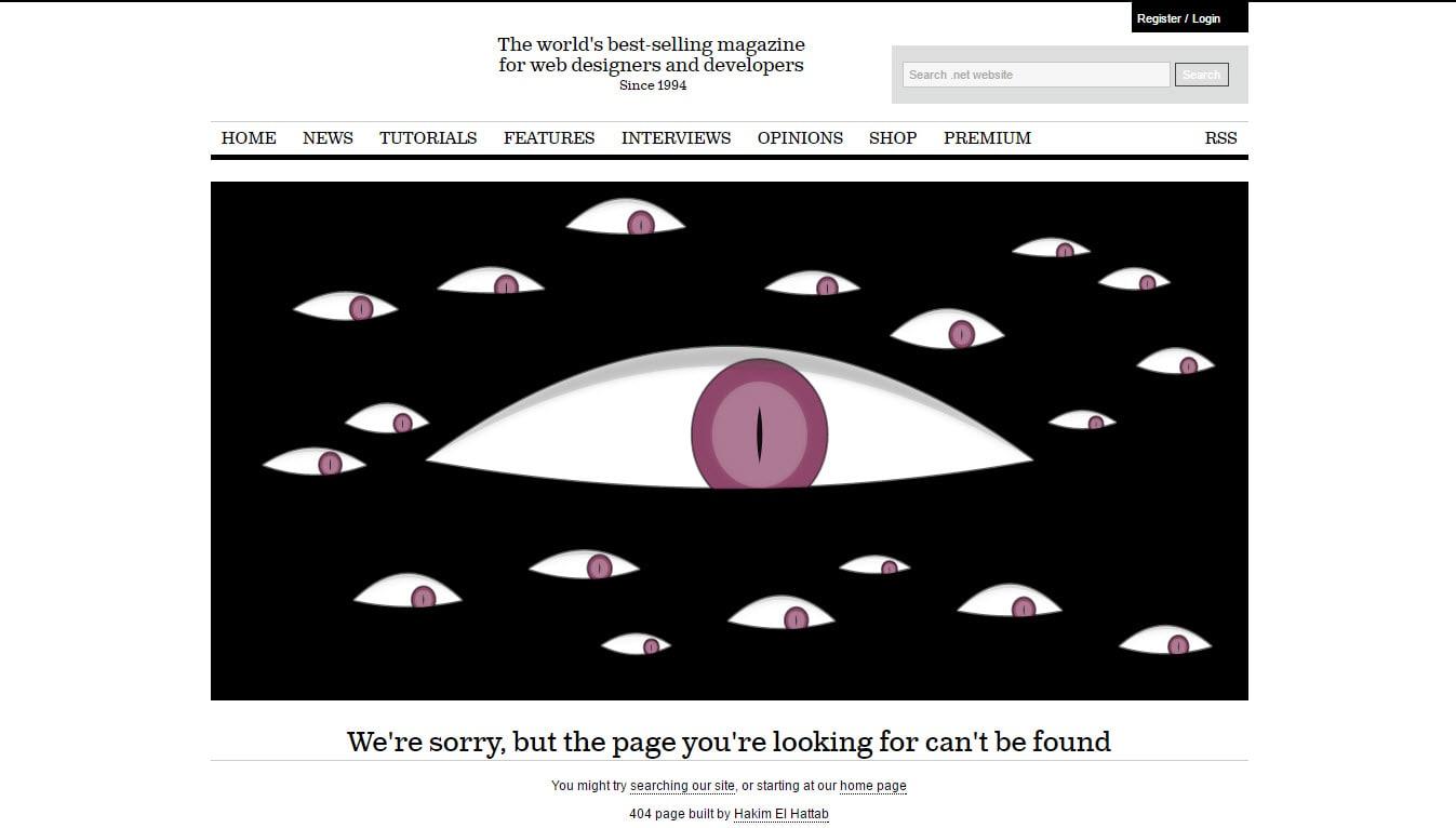 Hakim El Hattab Top 404 Pages