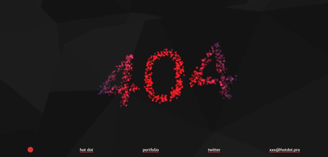 Hot Dot Production 404