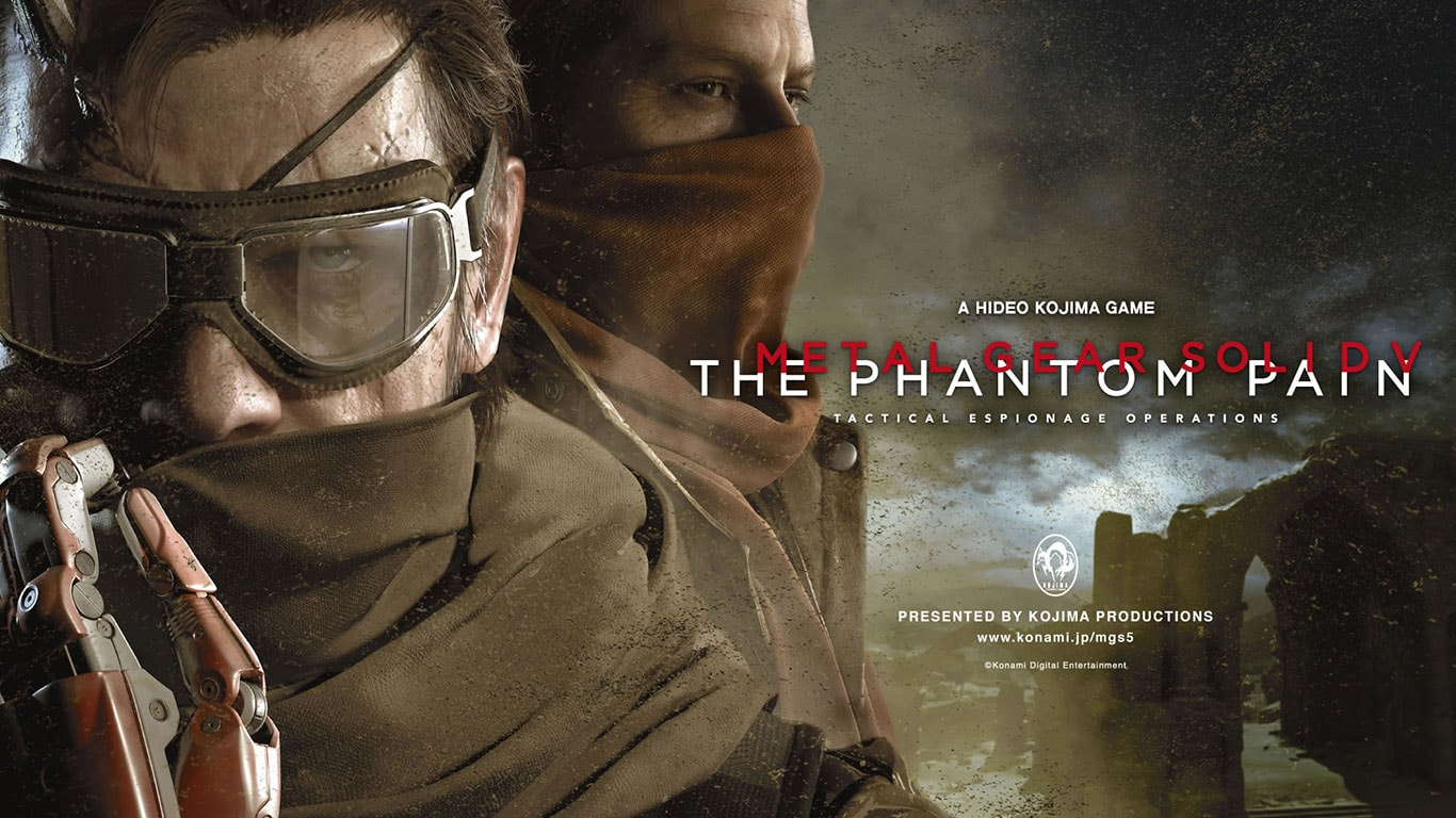Metal Gear Solid 5 - The Phantom Pain Game for PS4
