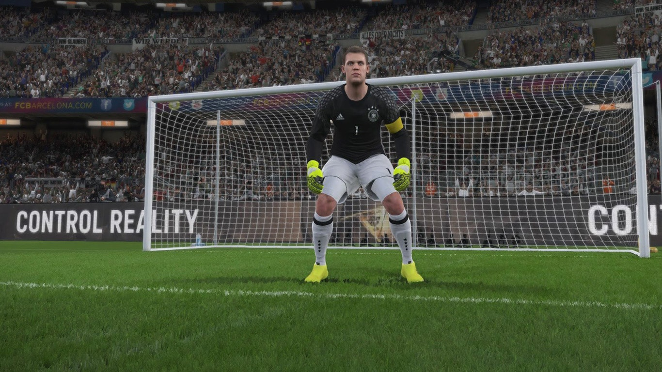 PES 2017 Goalkeeper