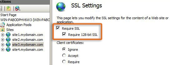 Redirect HTTPS to HTTPS in IIS7