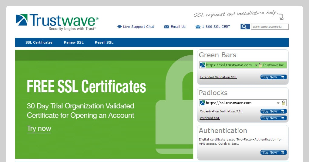Trustwave SSL Services