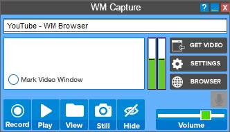 WM Capture Software to Record Gameplay