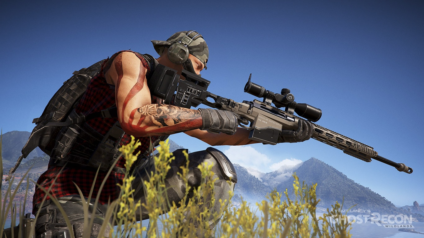 Weapons in Ghost Recon