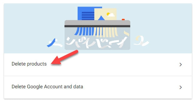 Remove Gmail Account in Account Configuration Page