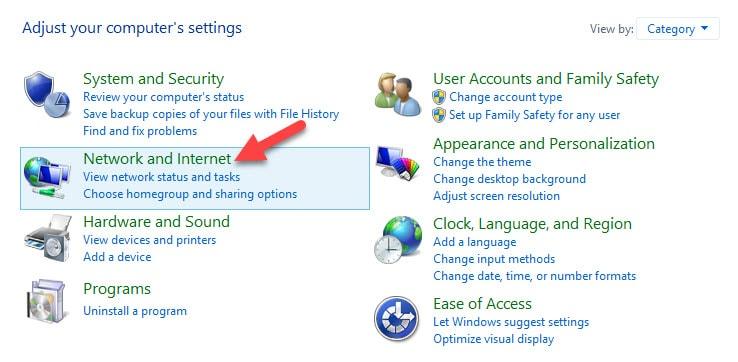 Tweak DNS Server in Windows 8 Network and Internet