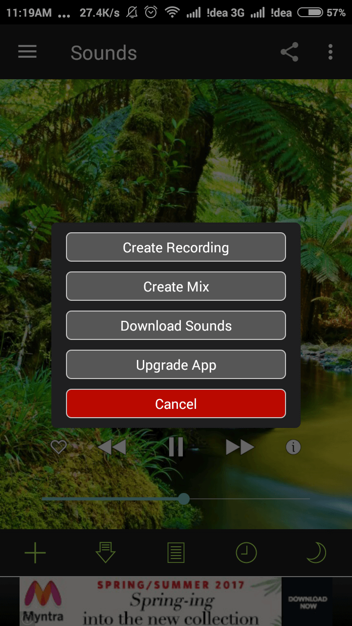 White Noise Free App Create Recording